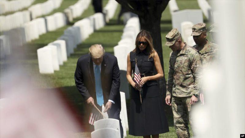 """EE.UU. honra hoy a militares fallecidos en combate durante """"Memorial Day"""""""
