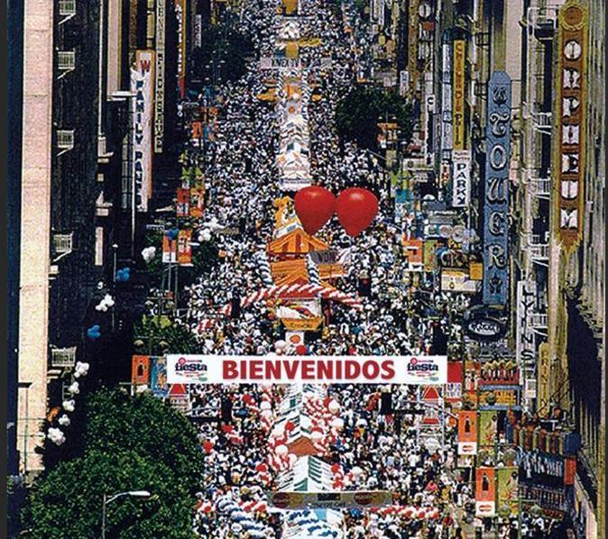 En Los Angeles antes que en México, se celebró por primera vez el 5 de mayo