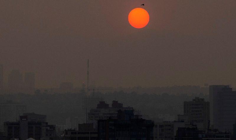 Crisis ambiental en la capital mexicana: aguda contaminación, pocos vientos