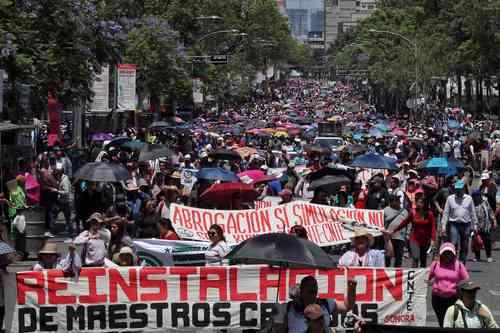 CNTE: incumple la reforma promesa de abrogación; advierte que habrá resistencia en aulas, comunidades y calles