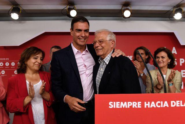 Victoria agridulce del PSOE en las elecciones españolas y europeas