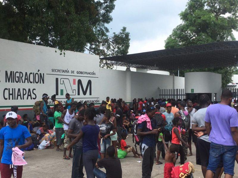 Otra fuga de migrantes cubanos en San Cristobal; no quieren que los deporten