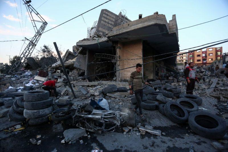 Israel y autoridades palestinas de Gaza pactan alto al fuego
