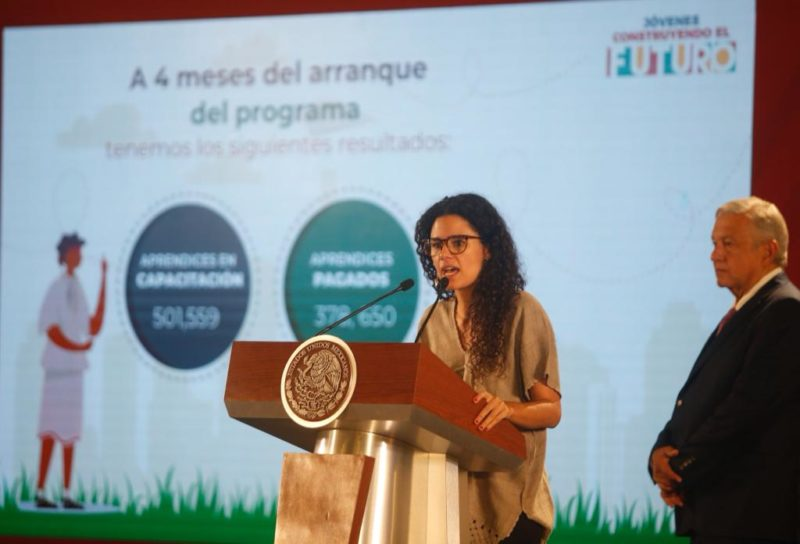 Adscritos más de 501 mil jóvenes al programa construyendo el futuro: AMLO