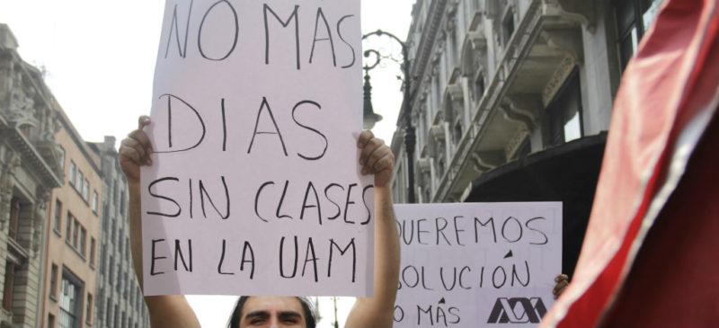 Termina huelga de 94 días en la UAM; acepta sindicato propuesta salarial