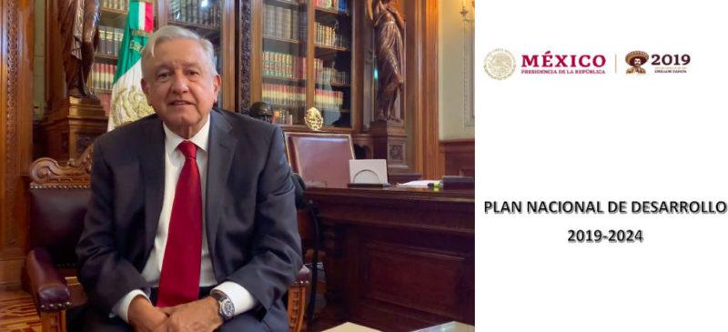 """Video: AMLO presenta el  Plan Nacional de Desarrollo 2019-2014 que propone crecimiento económico del 6%, """"sin recetas extranjeras como ocurrió con gobiernos neoliberales"""""""
