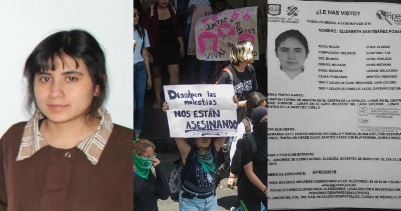 Cuando cientos protestan en CU, Elizabeth, alumna de Ciencias en la UNAM, desaparece en Edomex