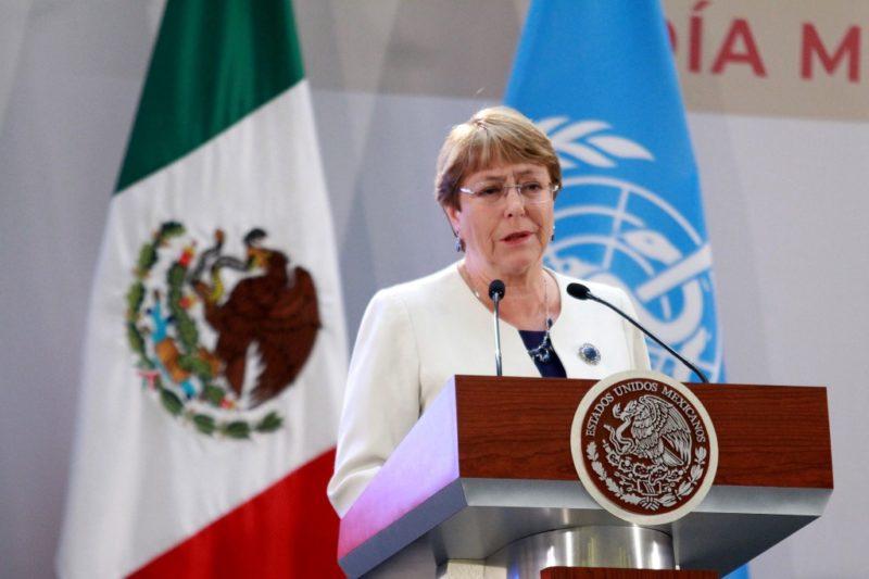 Organizaciones envían carta a Bachelet ante emergencia de inseguridad