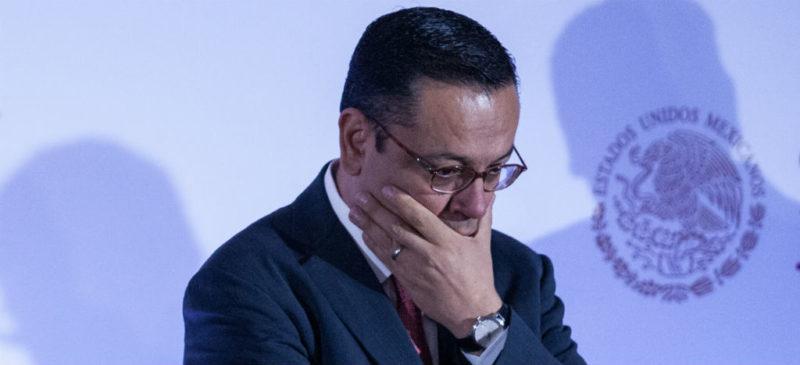 Renuncia Germán Martínez Cázares al IMSS; responsabiliza a Hacienda