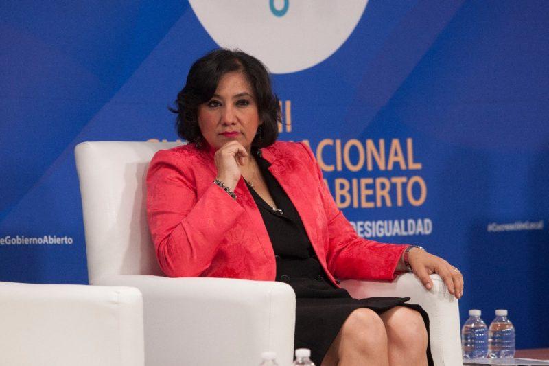 México ocupa tercer lugar mundial en lavado de dinero, destaca Irma Eréndira Sandoval, secretaria de la Función Pública