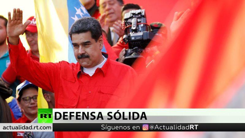 """Videos: Maduro ante los militares: """"La fuerza armada de Venezuela está cohesionada como nunca antes"""""""