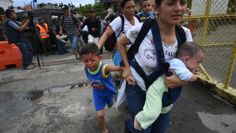 Al borde del colapso, la frontera sur de México