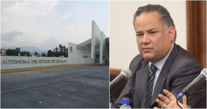 El representante de la Universidad de Hidalgo no se presentó a la cita después de que se bloquearon cuentas por:156 millones de dólares por presunto lavado de dinero