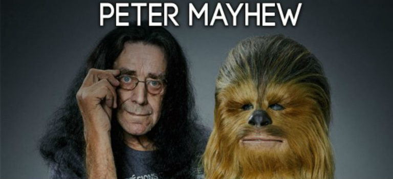 "Video: Murió Peter Mayhew, intérprete de ""Chewbacca"" en Star Wars"