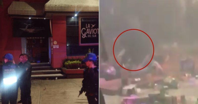 Video: Hombres armados entran a salón de fiestas y matan a 2 en pista de baile. Fue en Coapa, CdMx (
