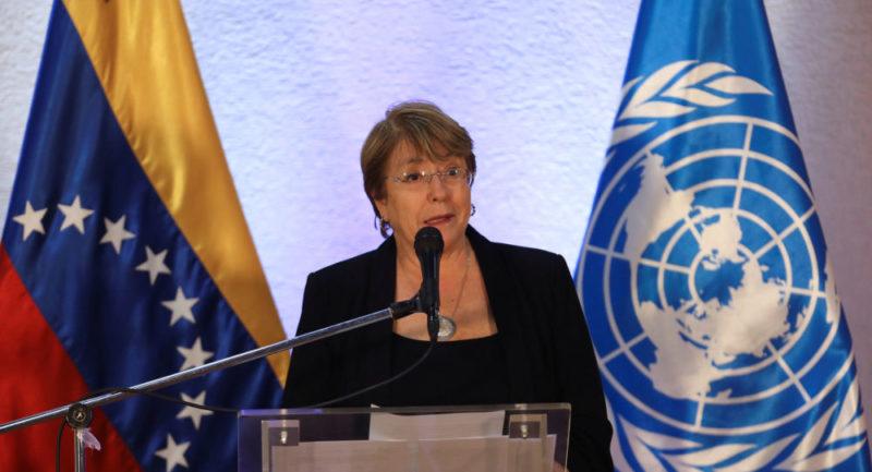 Bachelet llega a varios acuerdos sobre derechos humanos con Caracas