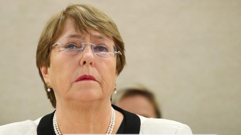 Videos: Michelle Bachelet, Alta Comisionada de las Naciones Unidas para los Derechos Humanos, visita en Venezuela; Maduro le da la bienvenida