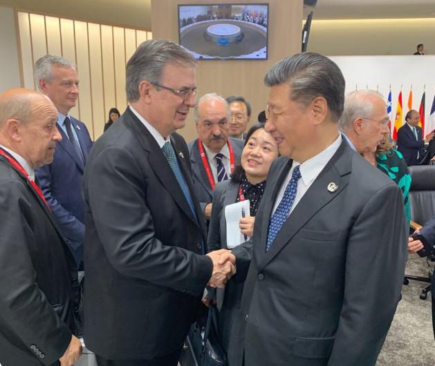 México busca más negocios con China: Ebrard. Va a Pekín la próxima semana.