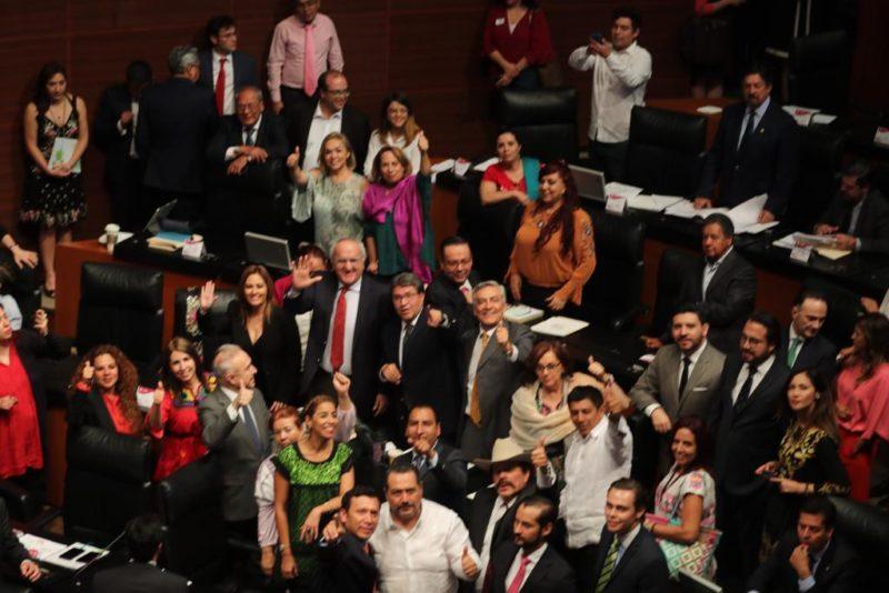 Ratifica el Senado el Tratado de Libre Comercio entre México, Estados Unidos y Canadá; AMLO celebra y recibe felicitación de Trump