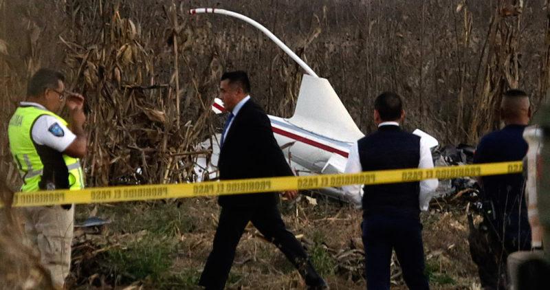Helicóptero en el que murieron la gobernadora de Puebla, Martha Erika Alonso, y su esposo no presentaba fallas: SCT