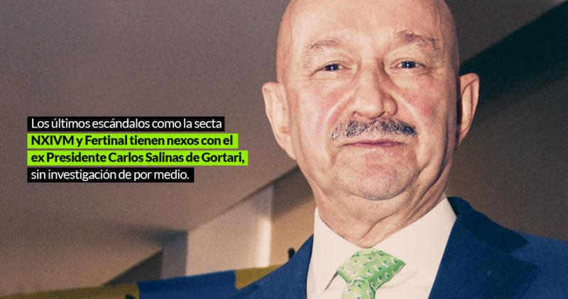 Lozoya, Peña, Pemex, Larrea, la secta NXIVM, las privatizaciones: ¿por qué siempre sale Salinas?