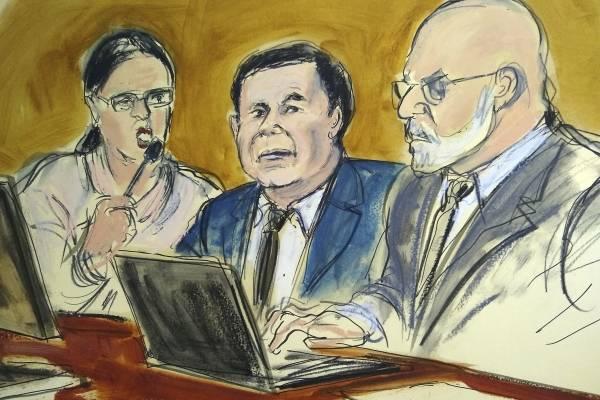 A 10 días de dictar sentencia, defensa de El Chapo insiste en repetir su juicio en Estados Unidos