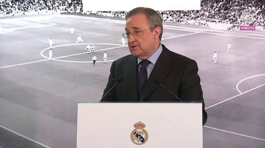 El juego sucio del presidente del Real Madrid, Florentino Pérez, en México