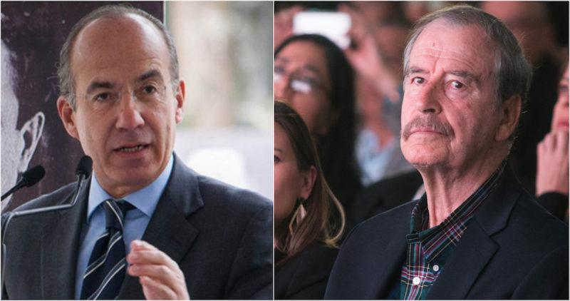 Vicente Fox y Felipe Calderón, ex presidentes de México, respaldan e invitan a marcha contra AMLO