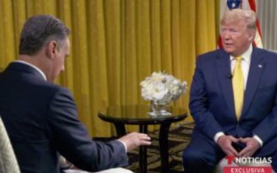 """Video: """"Me gusta AMLO"""": Trump; los dos países ganan con el acuerdo, dice. López Obrador quiere reunirse con él en septiembre"""