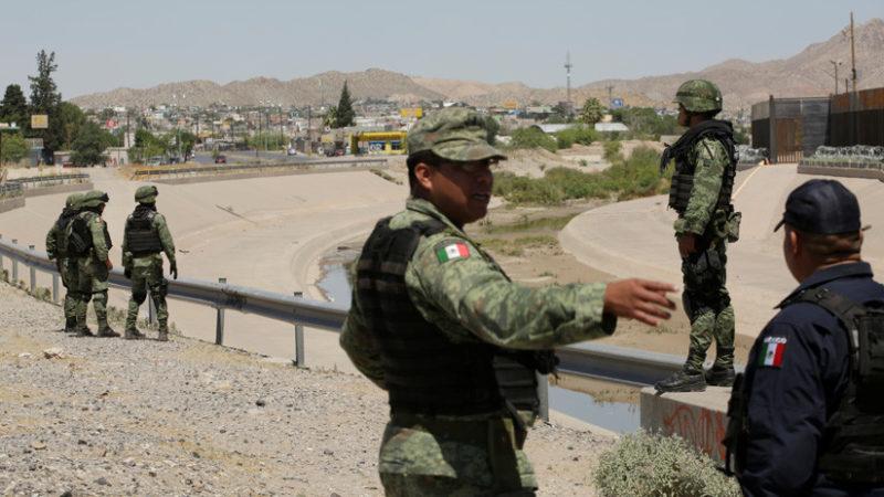 Videos: México envía 15.000 militares a la frontera con EU para frenar la migración