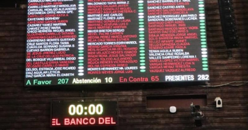 Diputados aprueban que Bansefi se vuelva el Banco del Bienestar; el dictamen pasa al Ejecutivo