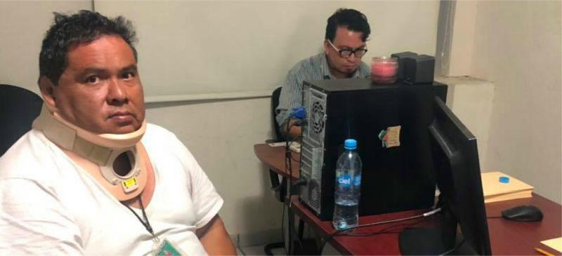 """Video: Liberan al periodista veracruzano Marcos Miranda; """"seguiré con mi línea crítica"""", dice"""