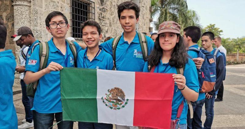 Niños mexicanos ganan el primer lugar en Olimpiada de Matemáticasde Centroamérica y del Caribe; se llevan dos medallas de oro