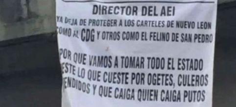 Cartel Jalisco Nueva Generación afirma que tomará Nuevo León; colocó once narcomantas en Monterrey, San Nicolás de los Garza y San Pedro