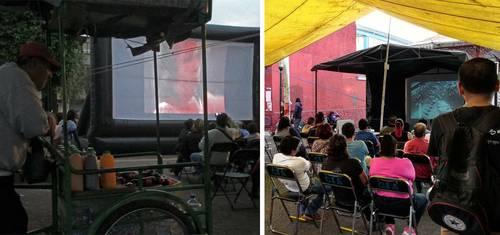 Llevarán cine en modo permanencia voluntaria a unidades habitacionales en la Ciudad de México