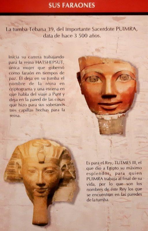 Especialistas mexicanos rescataron y preservaron la Tumba Tebana 39, en Luxor, Egipto