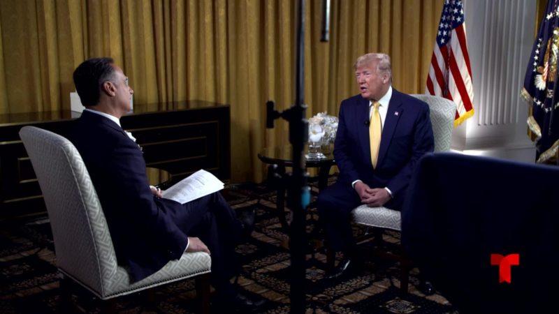 Video: México no hace el trabajo sucio a EU al frenar a migrantes, destaca Trump. Afirma que los latinos quieren que sea severo con los indocumentados