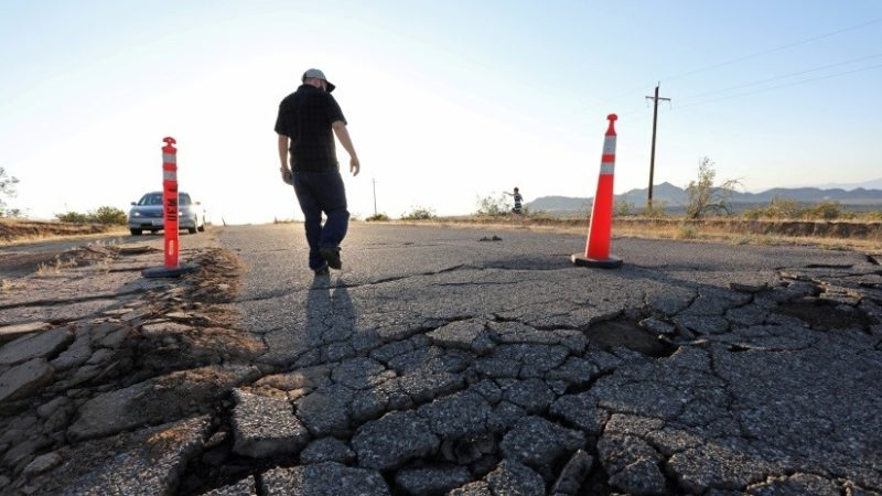 Más de 4.700 temblores se han registrado en California desde el jueves