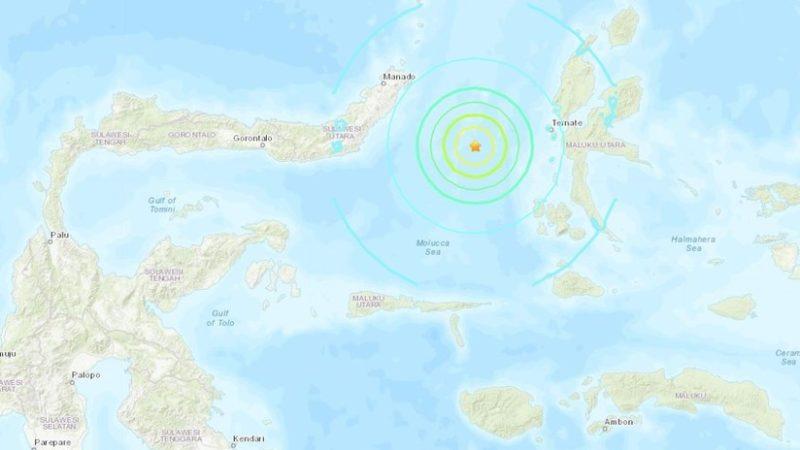 Emiten alerta de tsunami en Indonesia tras un sismo de 7,0