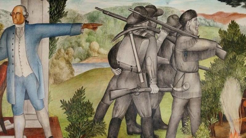 Unos murales que representan a George Washington con esclavos, a punto de desaparecer en San Francisco; académicos se oponen