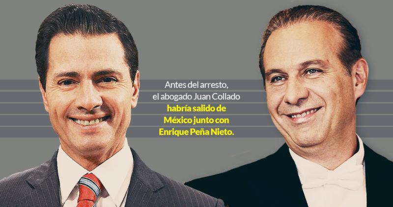 """Video: Collado sacó a Peña Nieto hacia España porque """"se exponía"""". Pero no olió que iban por él, según una fuente. Era su prestanombre y es acusado de lavado de dinero"""