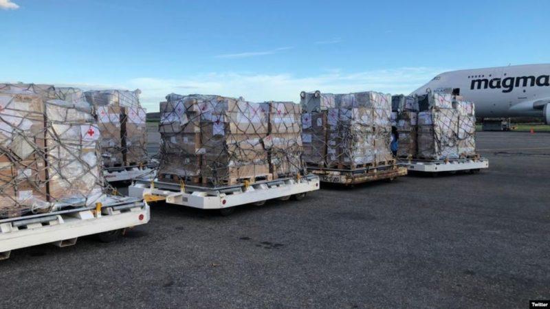 Cruz Roja de Italia envía 34 toneladas de medicinas para ayuda humanitaria a Venezuela