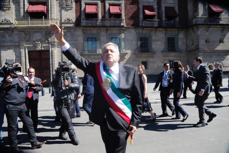 Siete meses después, Palacio Nacional es el epicentro de la nueva clase política