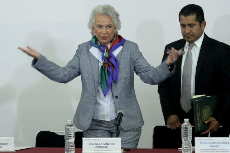 Bajo control, situación migratoria en México, afirma la secretaria de Gobernación, Olga Sánchez Cordero; ya no hay caravanas