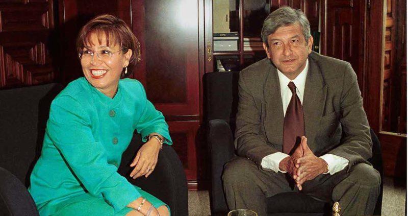 AMLO y Rosario eran amigos, pero ambos querían la Presidencia. Ahí se acabó todo. Esta es la historia