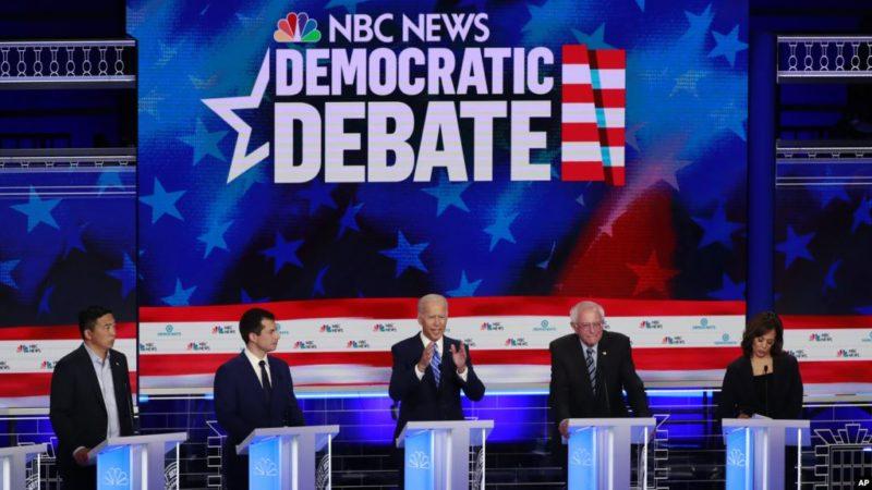 Biden sigue liderando grupo de candidatos demócratas