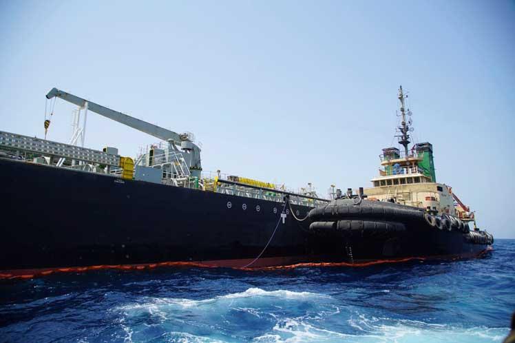 Confirma Panamá que petrolero detenido por Irán realizaba contrabando