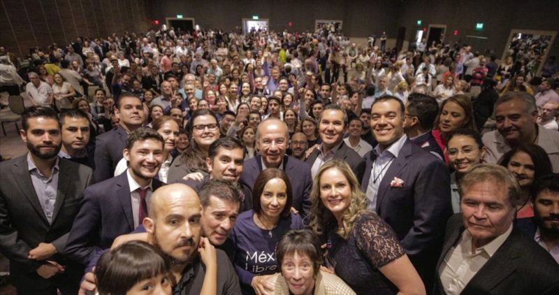 Calderón mueve el piso de la vida política nacional cuando abre la posibilidad de volverse Diputado