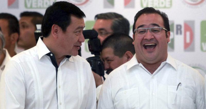 Si pactaron con el entonces fugado gobernador veracruzano ,Javier Duarte, para que se entregara a la justicia al ser acusado de corrupción, fue sin que me enterara, dice Osorio Chong tras la difusión de VIDEO