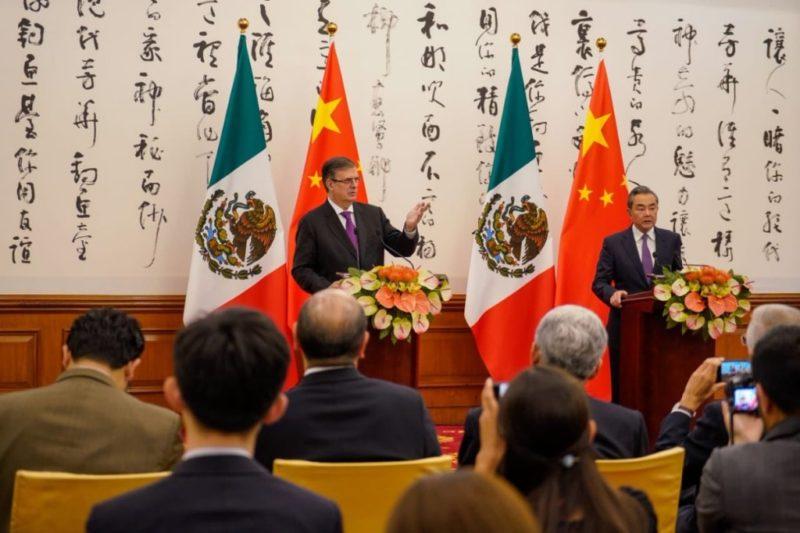 México y China incrementarán su relación económica, de cooperación comercial y de inversiones